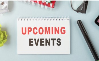 Upcoming events -